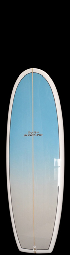 Mini Simmons Surfboard