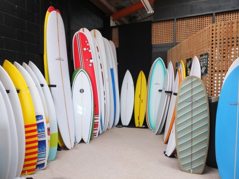 Surfboards Merry Christmas Happy New Year